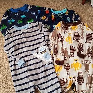 3T Footie pajama Bundle